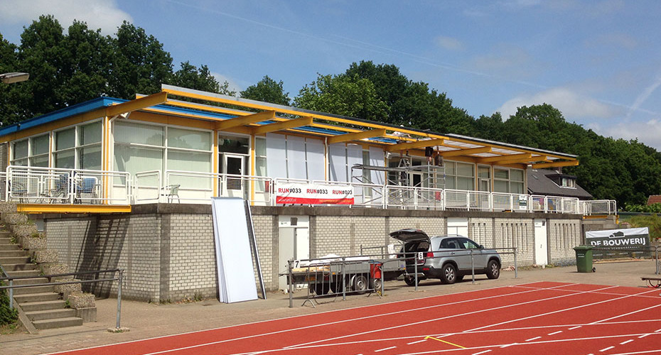 Renovatie Dak Atletiekvereniging Altis